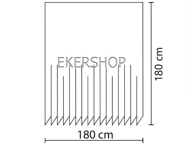 textil duschvorhang 120 180 220 240 x 200 cm wei schwarz grau creme rosa ebay. Black Bedroom Furniture Sets. Home Design Ideas